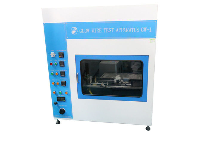 Glow Wire Flammability Testing Equipment With Electrical Control And Button Operation