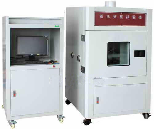 Vertical Extrusion Battery Crush Nail Penetration Testing Equipment 1~20KN Computer Control